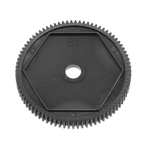 Corally Spur Gear 48Dp 81 Teeth Composite 1 Pc C-00140-093